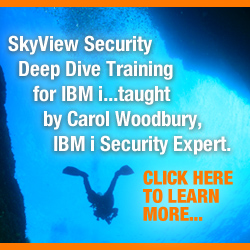 Security Training for IBM i from Skyview Partners