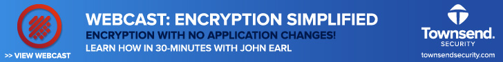 Townsend Security - Automatic Encryption - NIST Certified for IBM i